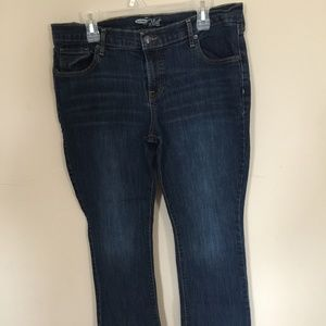 Old Navy Size 16 Short Bootcut Jeans